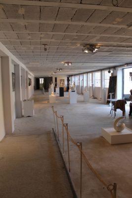 Salle d'exposition - ©Nadine Delerm