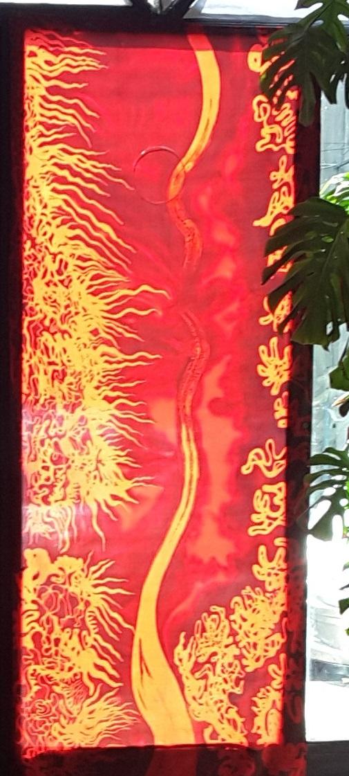 MOVEMENTS RED - Syl'Batik