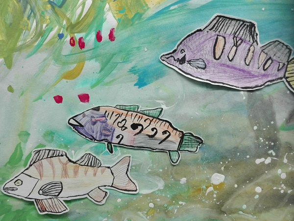 Rivières et poissons à l'Ecole Ouverte